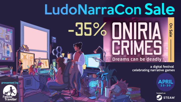 Descuento Oniria Crimes LudoNarraCon